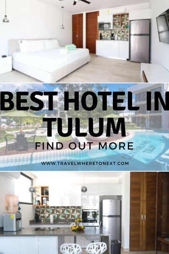 Heading to Mexico soon? You should try Tulum, one of the best cities and beaches in Mexico. It's a short drive from Cancun but a world of difference! While you're there make sure you stay in the best hotel...