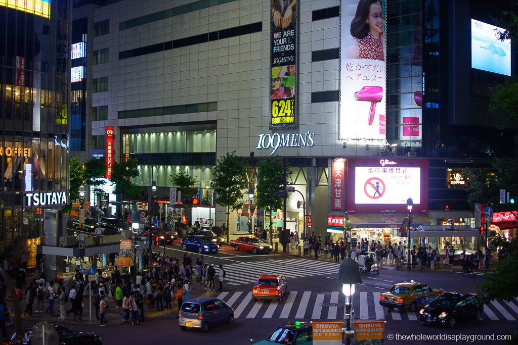 Shibuya Crossing  |  Tokyo Japan Source:   The Whole World is a Playground