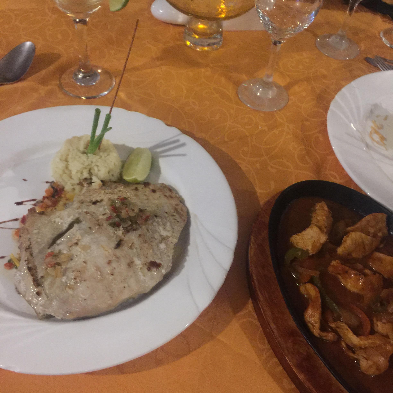 Food at Varadero 60   Varadero, Cuba