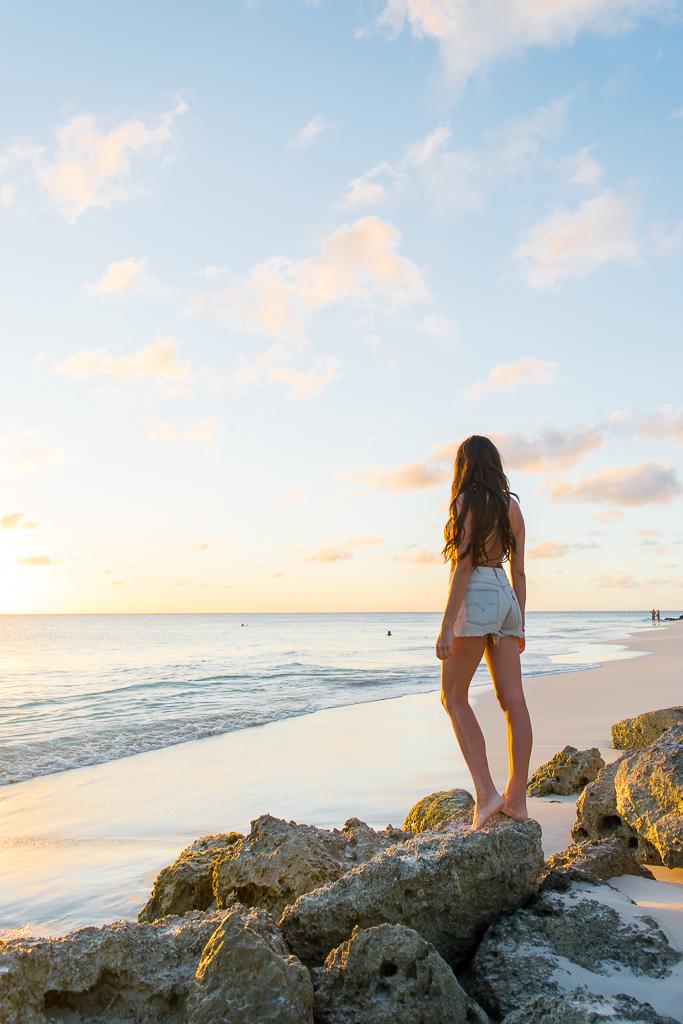 Beautiful Sunset in Aruba   travelwheretonext.com