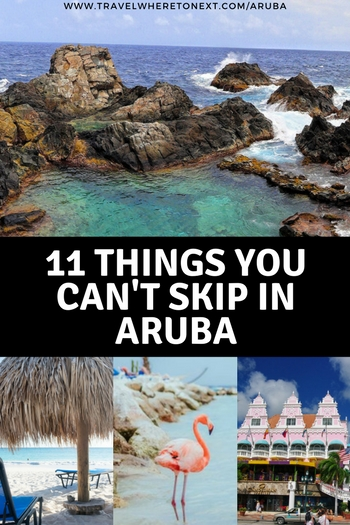 Aruba is a perfect travel destination for couples, families and even solo travelers. From spending the day with flamingos to snorkeling with sea life, here are the best things to do in Aruba…