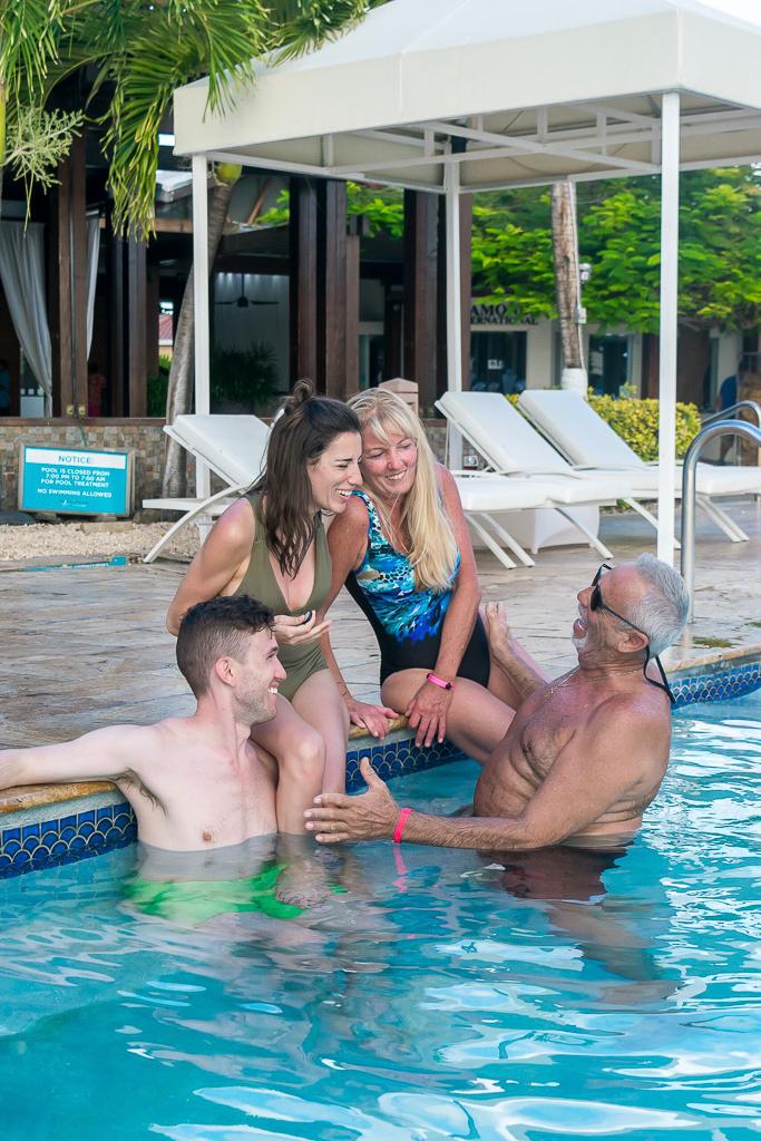 My family in Aruba