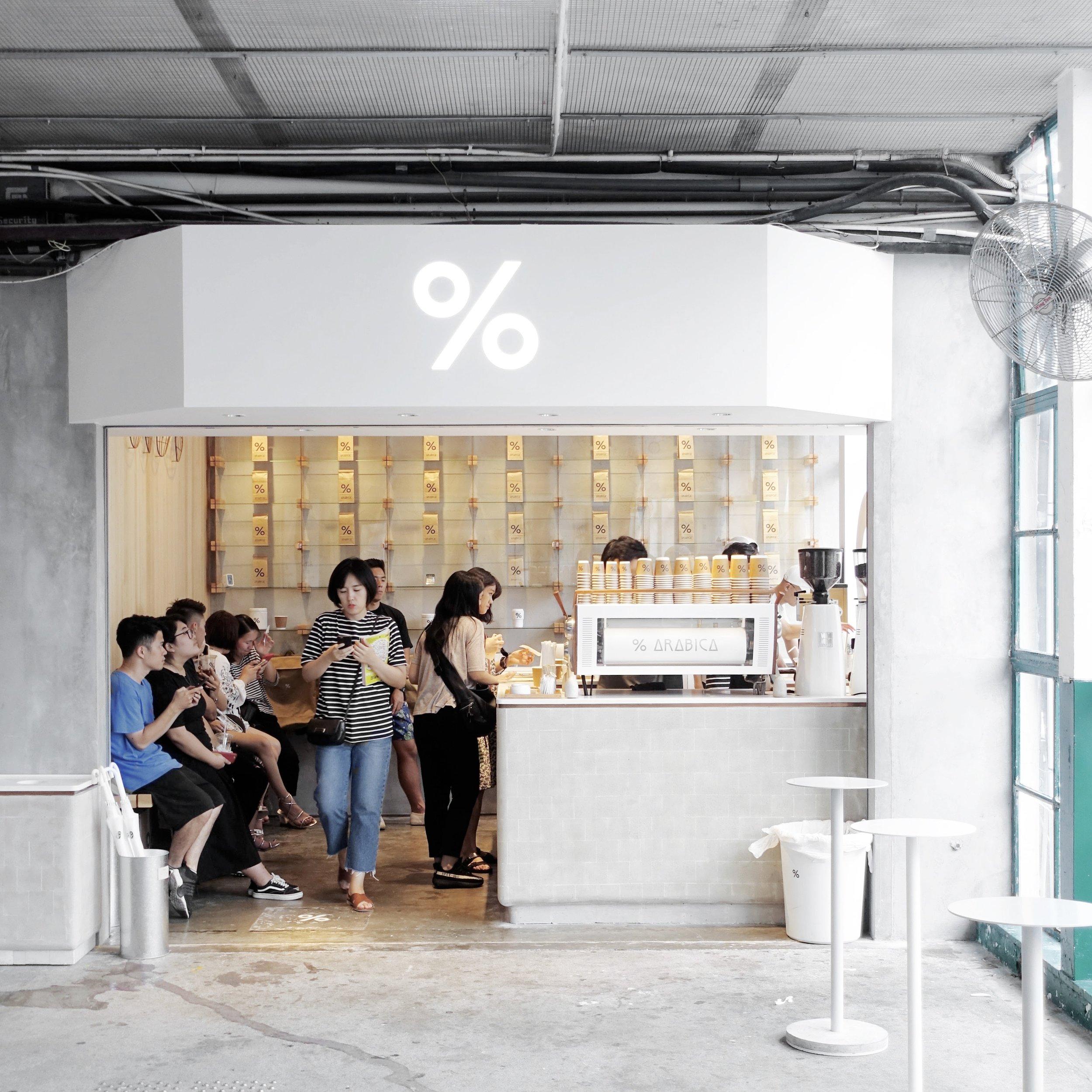 % Arabica in Hong Kong  Source