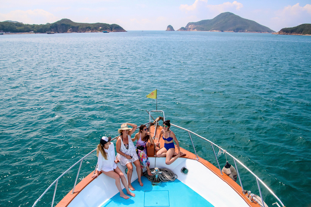 Islands in Hong Kong