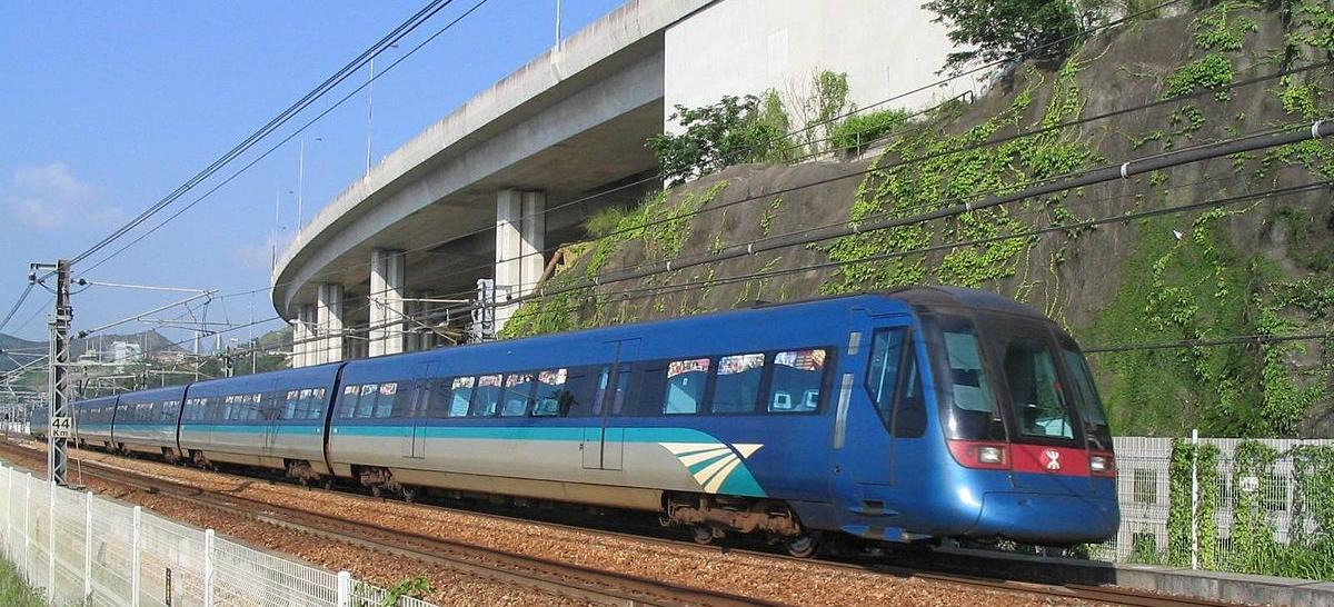 The Airport Express in Hong Kong