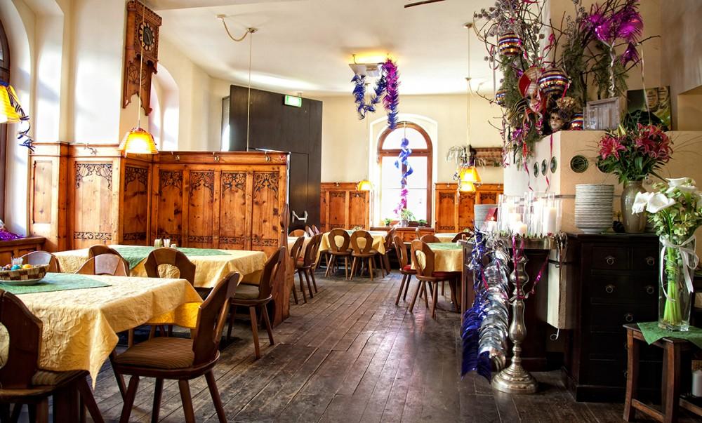 Inside of Gasthaus Anich