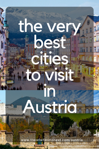Want to plan an awesome trip to Europe? You should research all the best cities to go in Austria! There are so many! Read on for more.