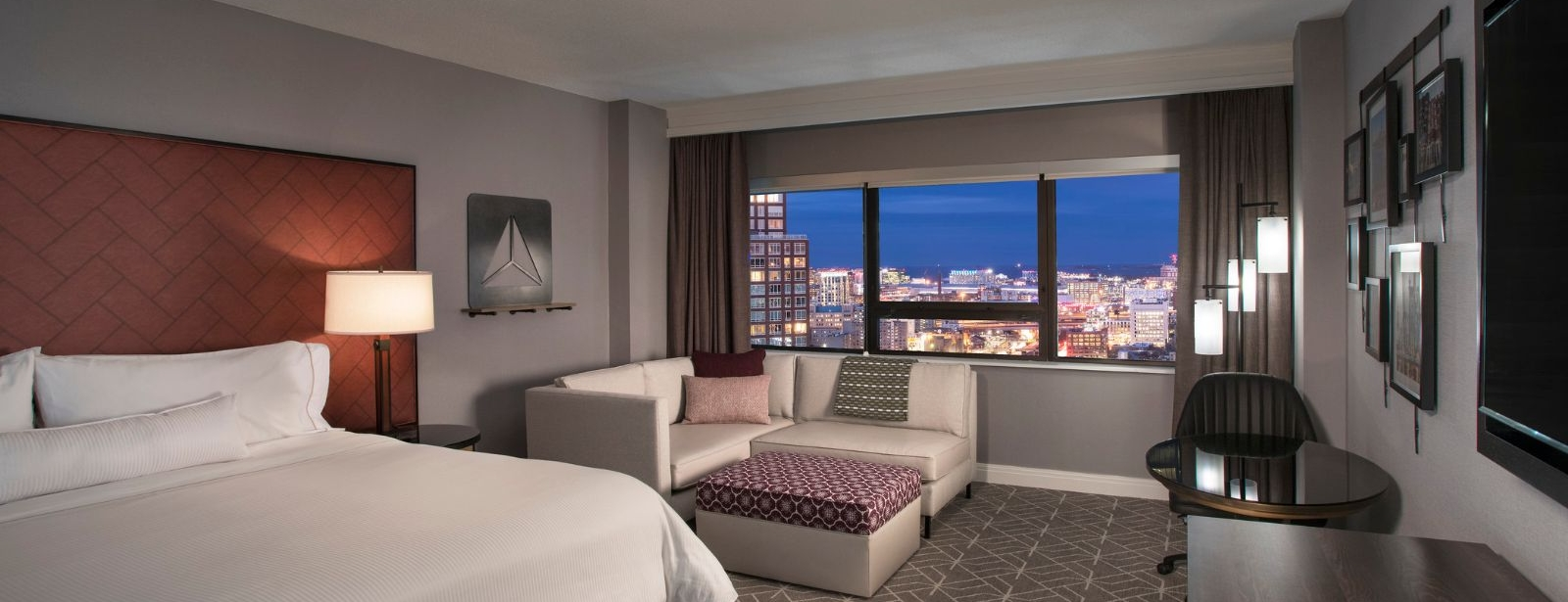 Room and View at Westin Copley Place