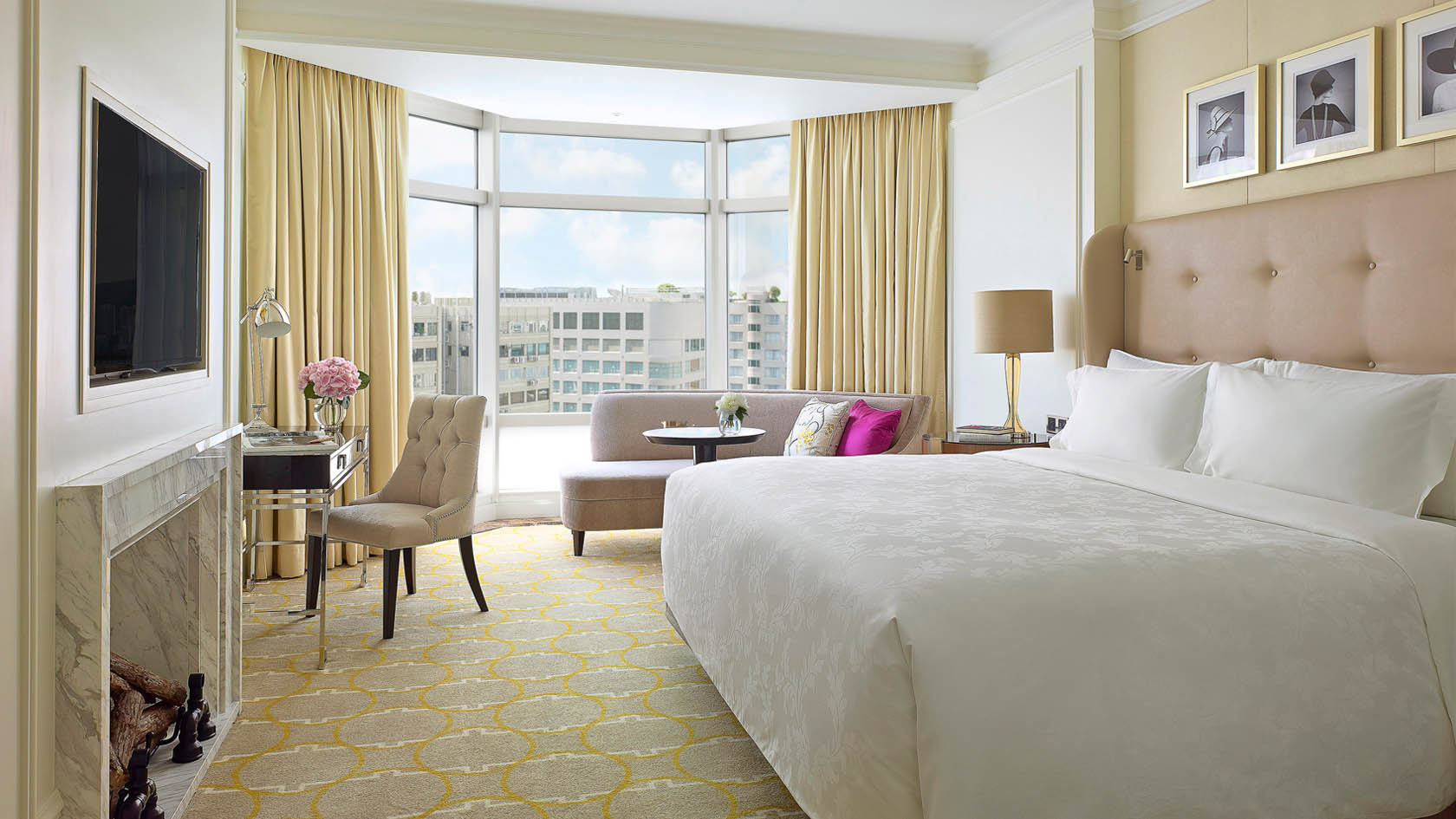 City view room at The Langham