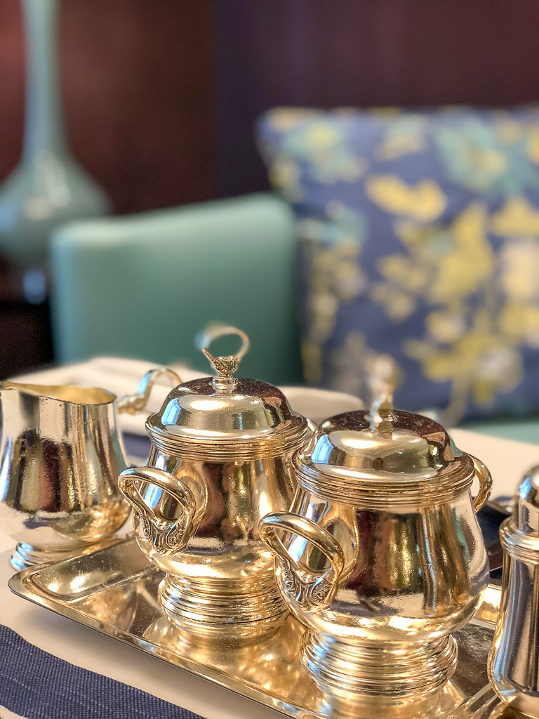 Tea Service at every table