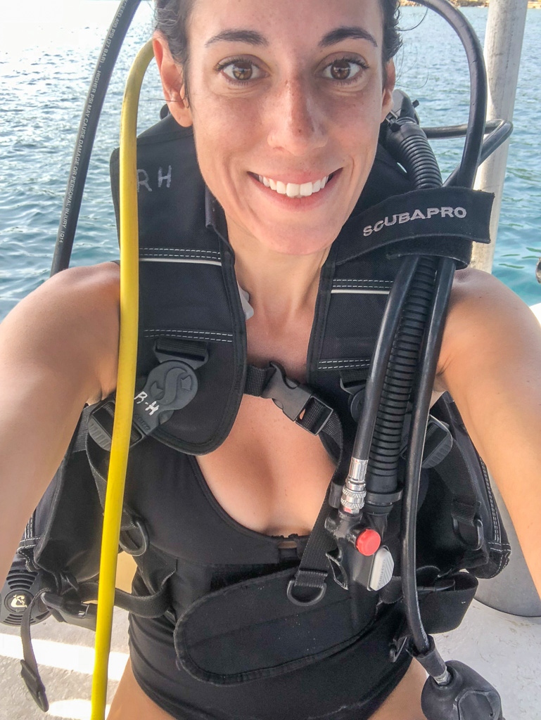 Scuba (extra charge) at Secrets in Montego Bay