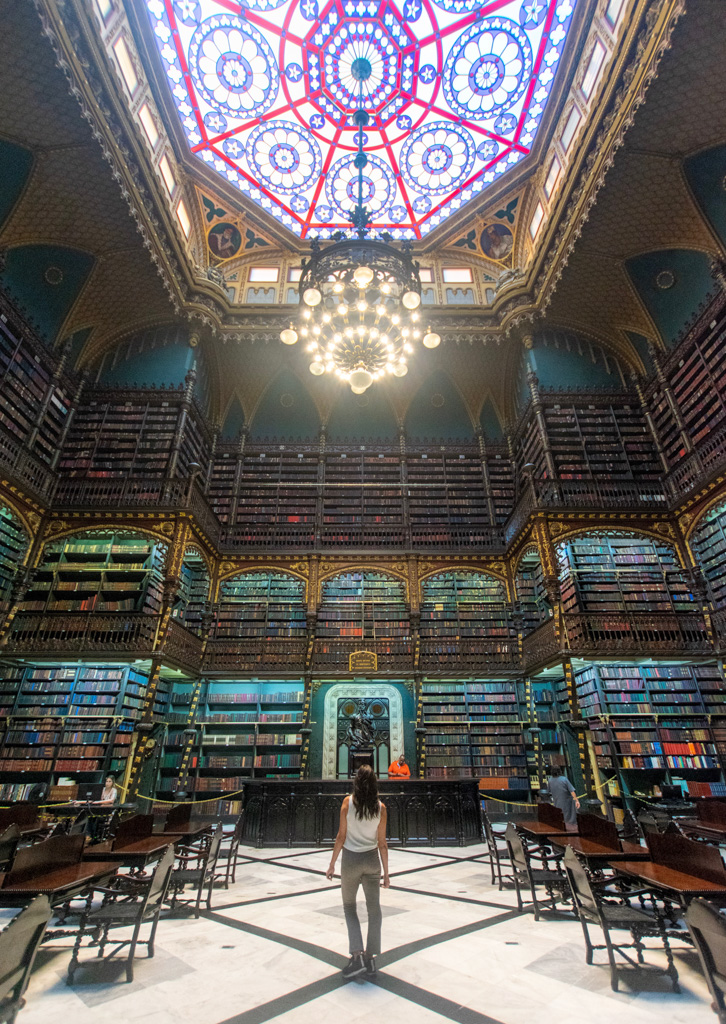 The most gorgeous library in all of South America is in Rio