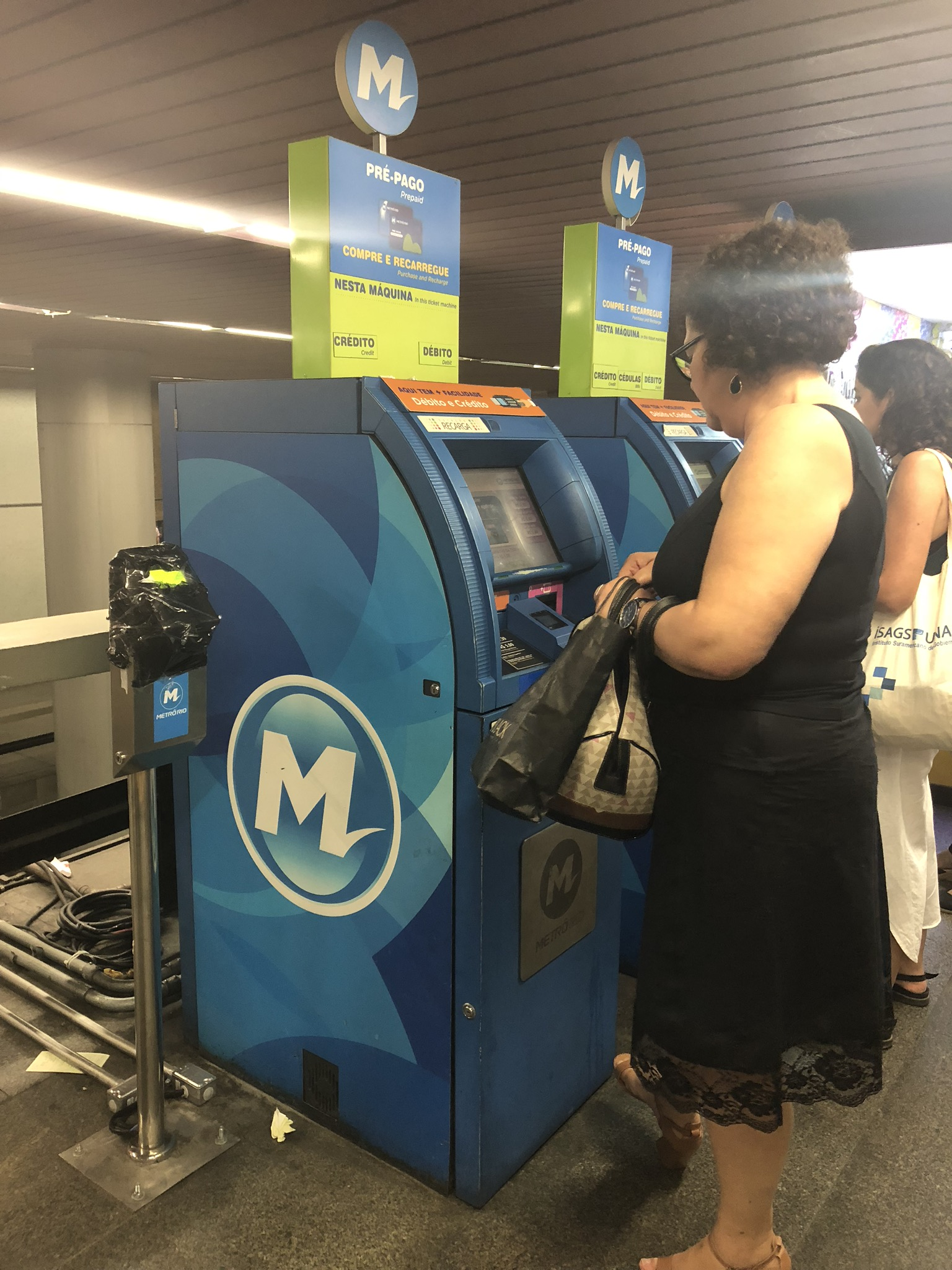 Machines to buy a card