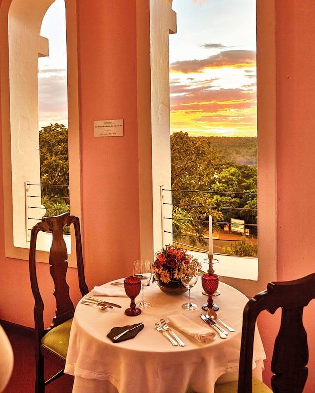 Lookout point at Belmond Hotel das Cataratas