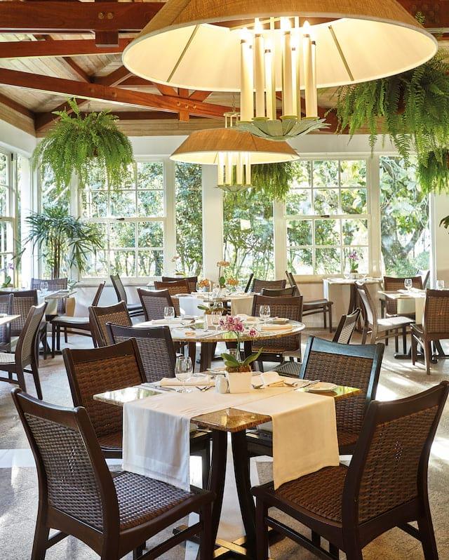 Breakfast (and dinner buffet) dining at Belmond Hotel das Cataratas