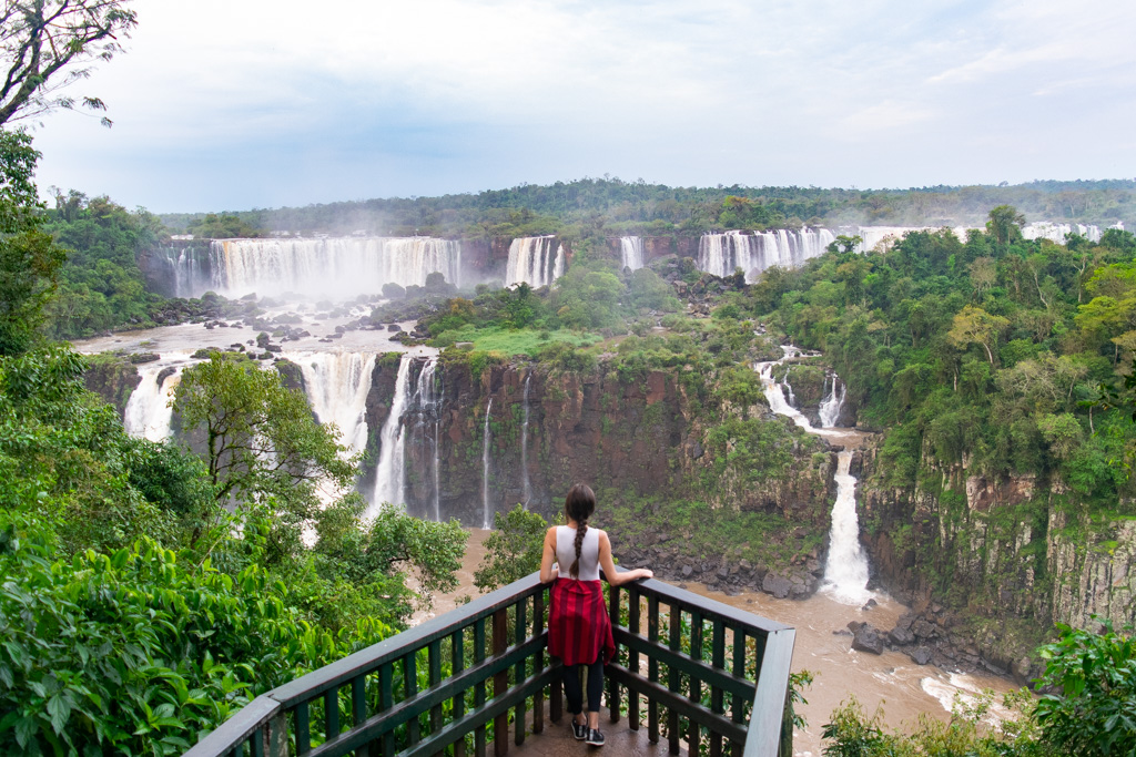 There is no way to get this view - completely alone like this - without staying at Belmond Hotel das Cataratas