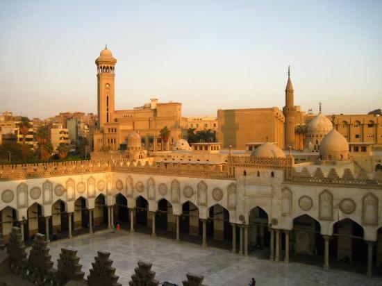 The Al Azhar Mosque in Islamic Cairo