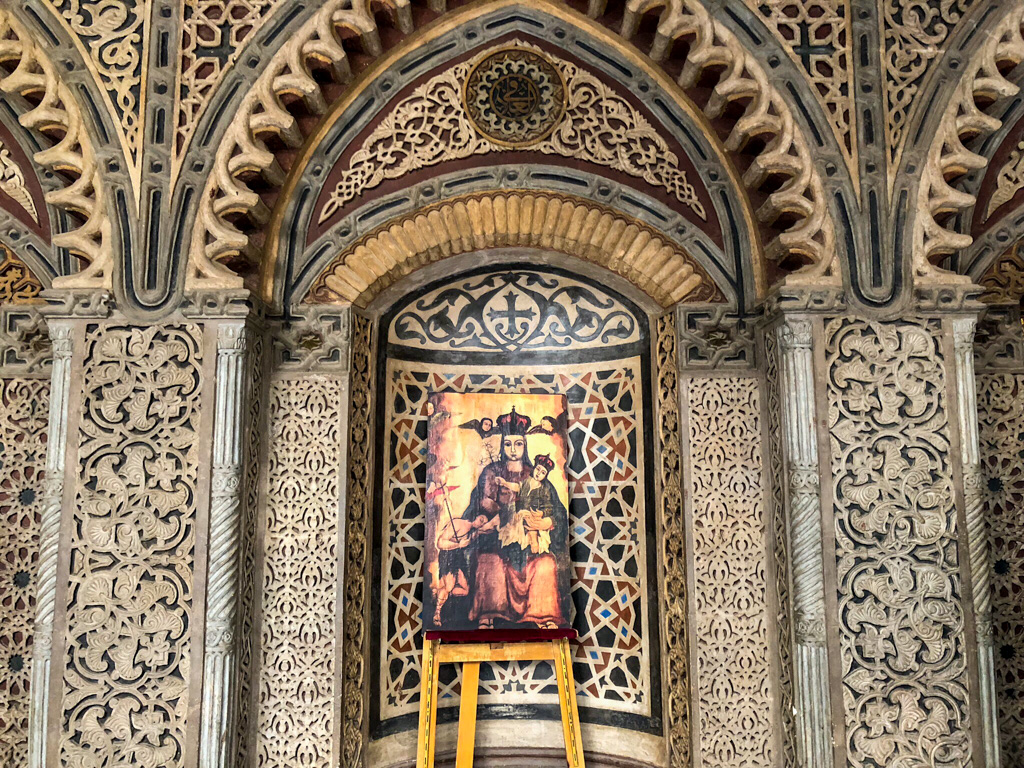 Gorgeous details in Coptic Cairo