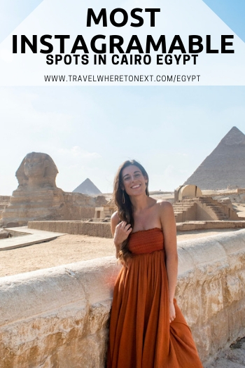 If you're heading to Cairo Egypt soon you probably want some good pictures while you're there. Check out this article for all the best spots and where to go once you land.