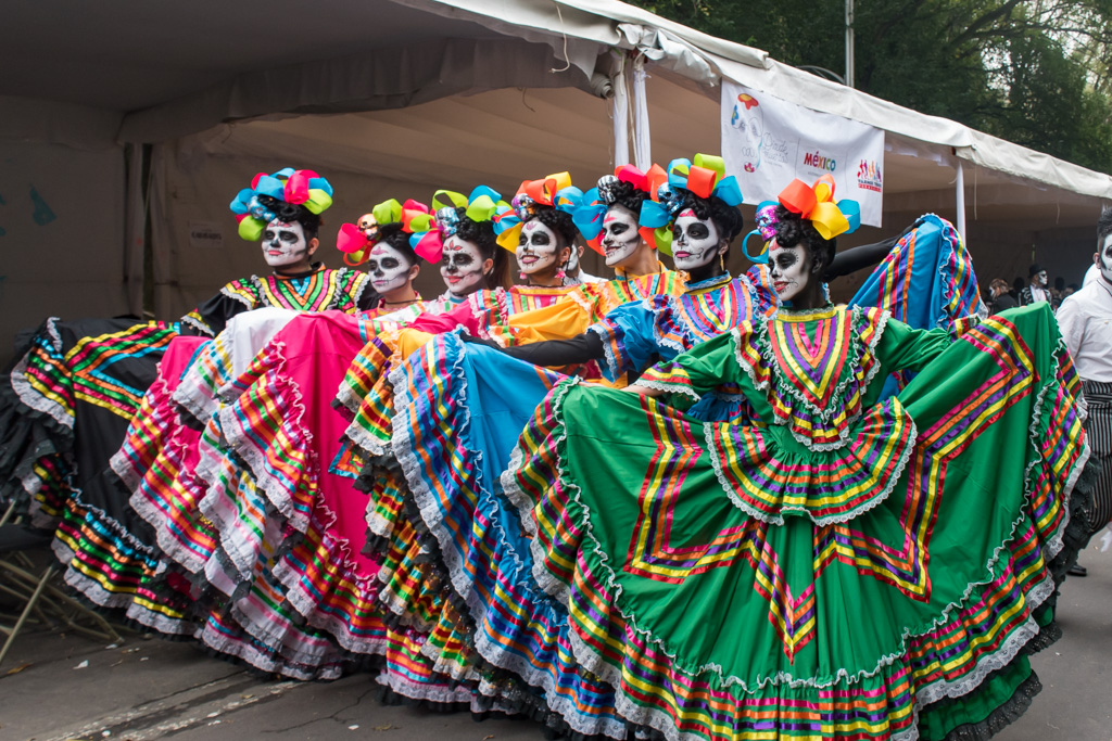 How to visit Mexico during the day of the dead festival and where to celebrate Dia de los Muertos in Mexico City