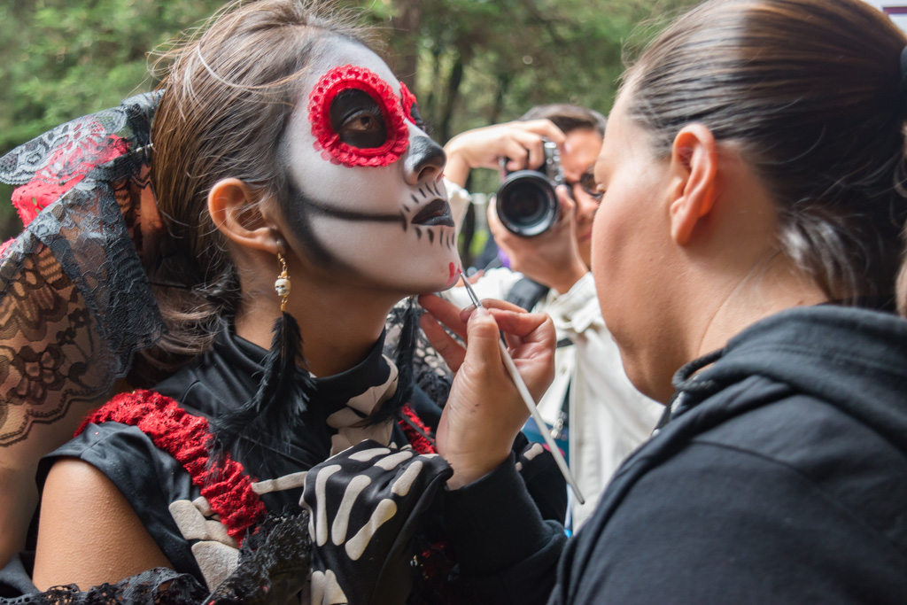 Mexico City Day of the Dead Parade