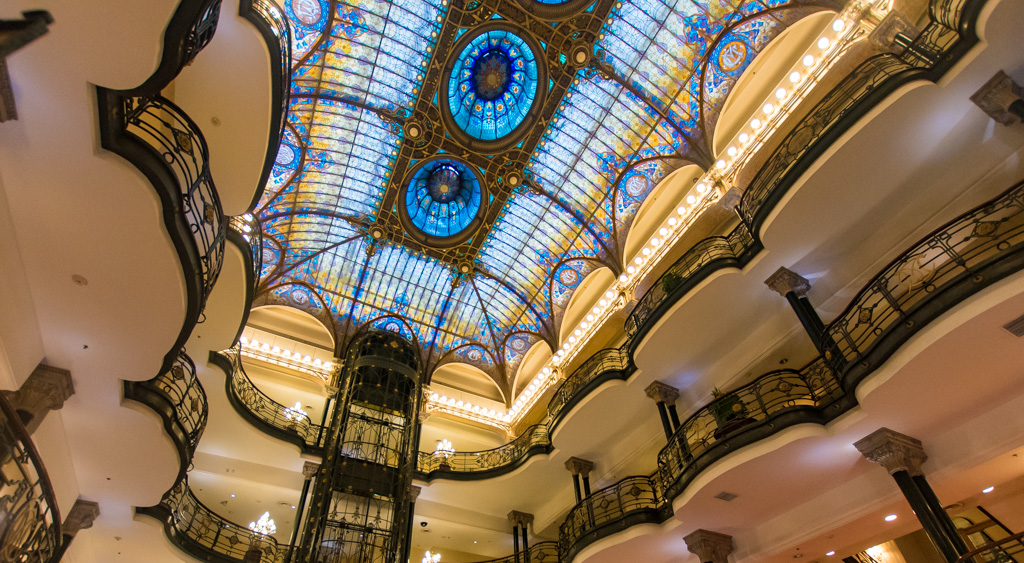 One of the best things to do is wander into Gran Hotel