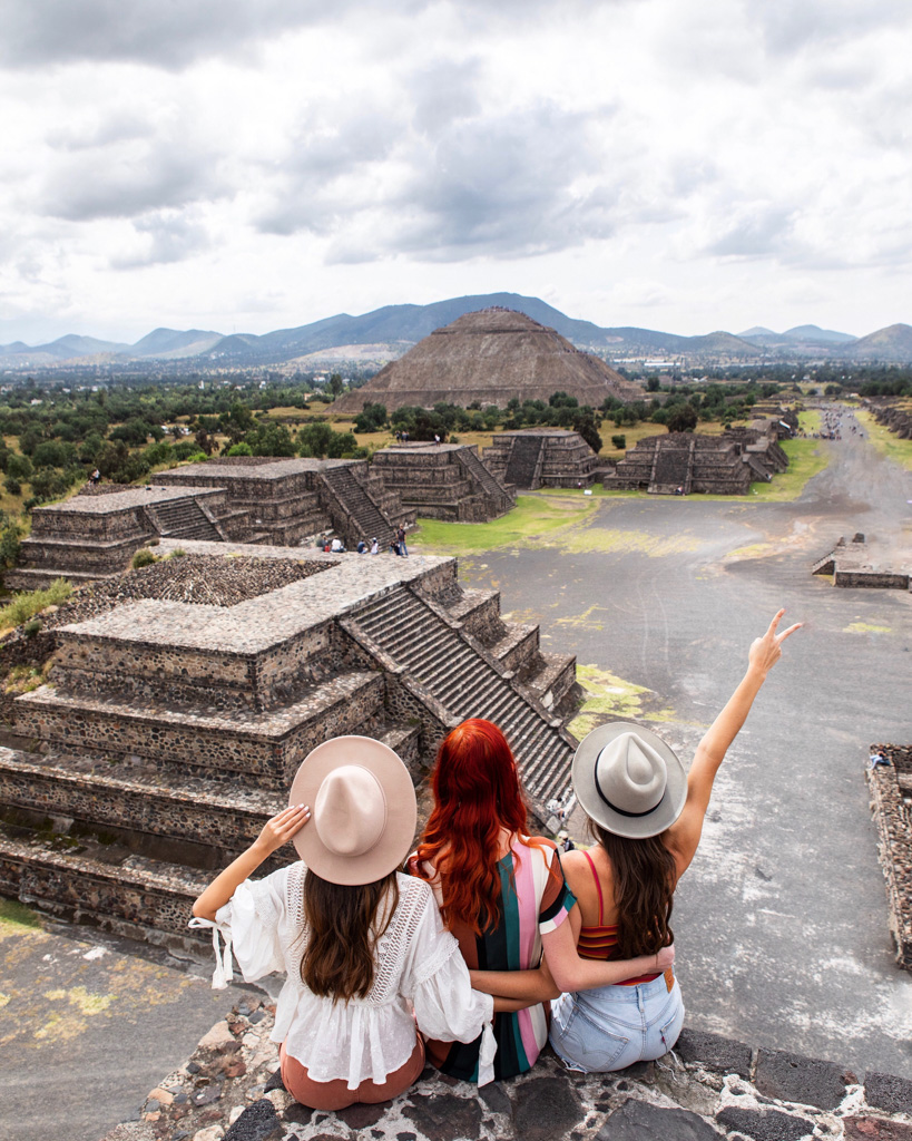 A trip to MExico City isn't complete without visiting Teotihuacan