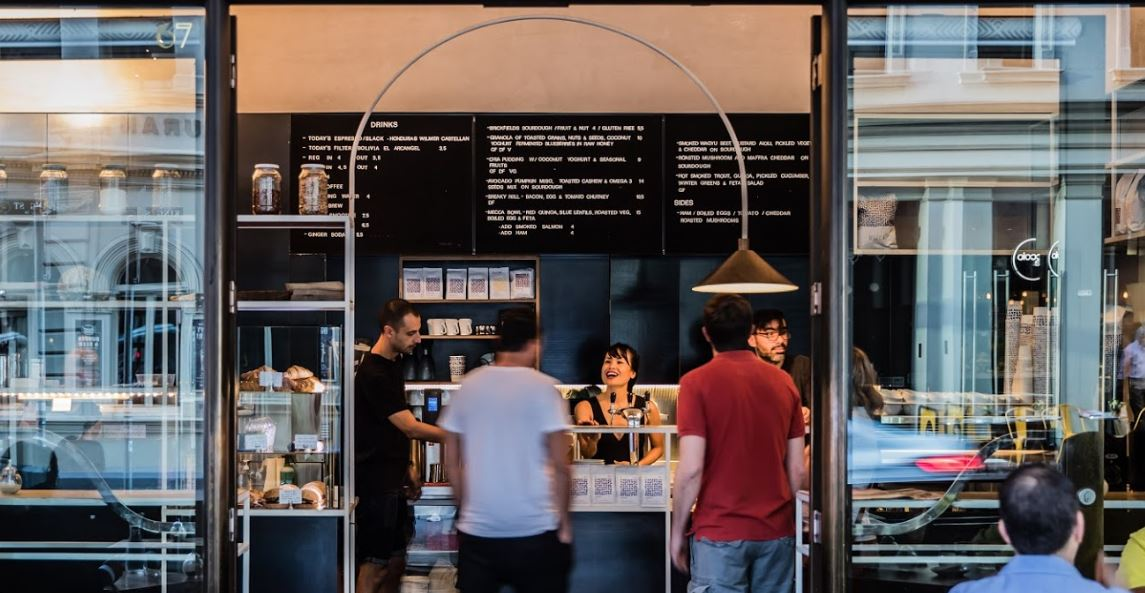 Mecca coffee is a popular morning coffee joint in Sydney's CBD.