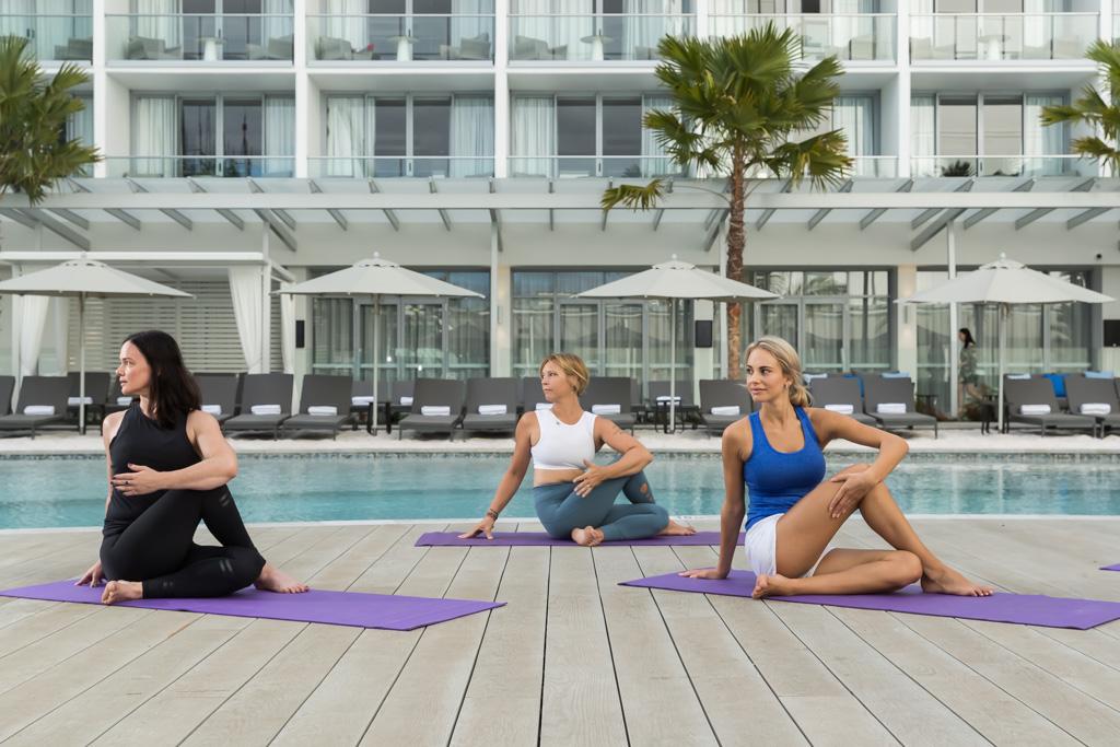 Yoga at Riley