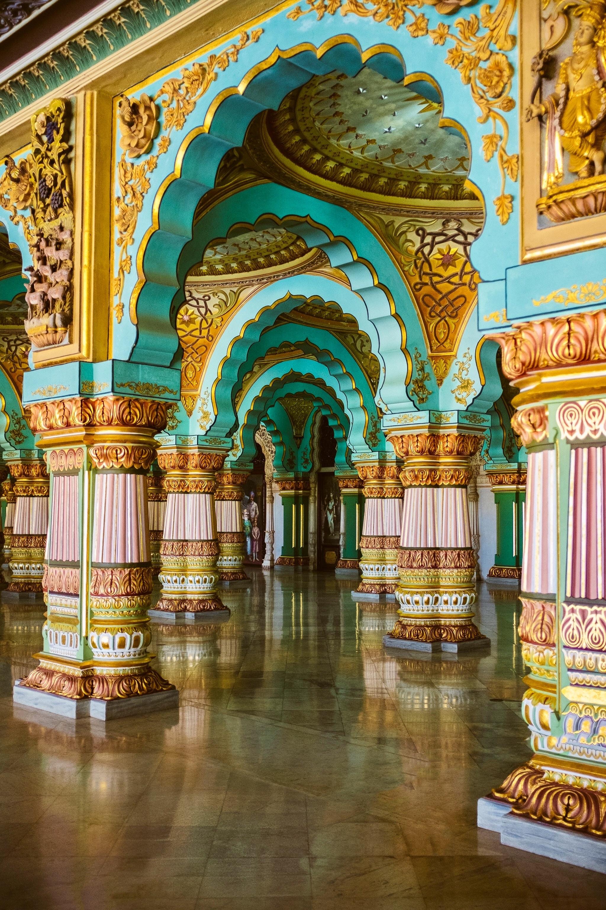 While visiting Mysore make sure you pay a visit to the palace. Photo Source:   Ashim D'Silva