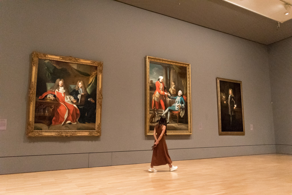 One of the best things to do in Melbourne is visit the National Gallery of Victoria.