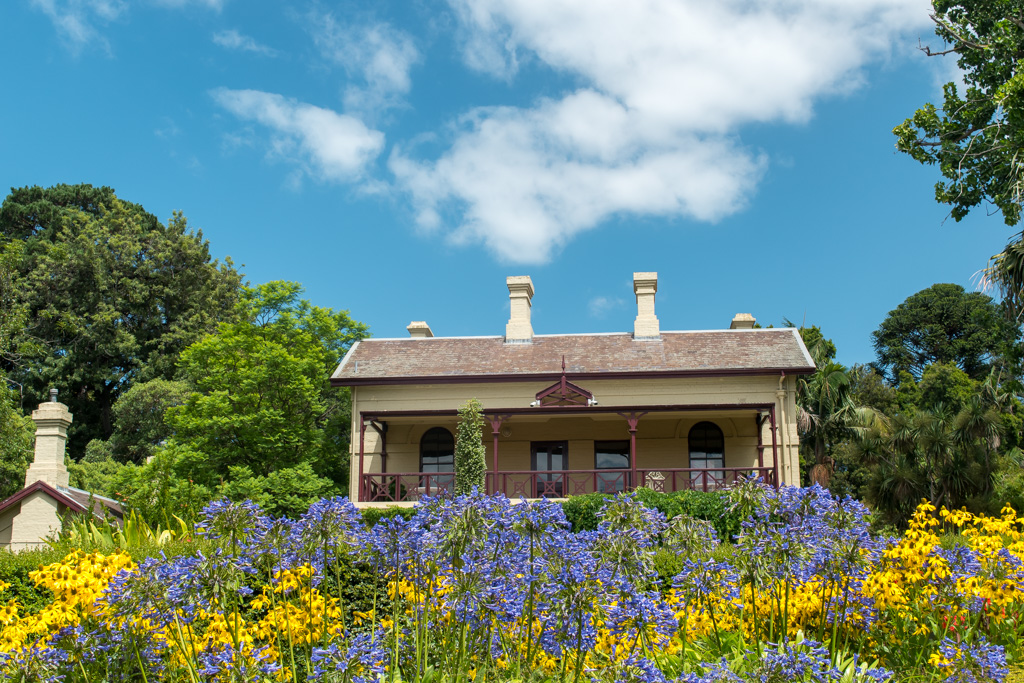 A gorgeous spot to enjoy the day is at the Royal Botanic Gardens in Melbourne