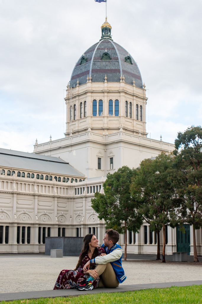 Closed but still gorgeous from the outside in the Carlton Gardens is the Royal Exhibition Building in Melbourne.