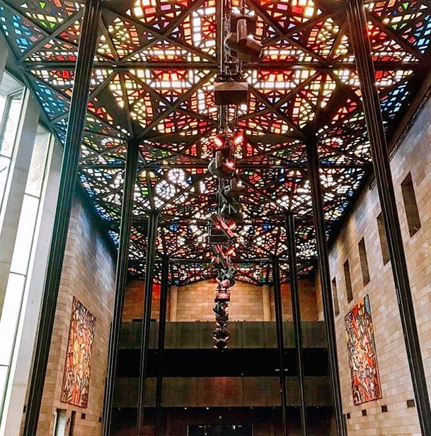 National Gallery of Victoria mosaic ceiling Photo Source:   @chengling.liang