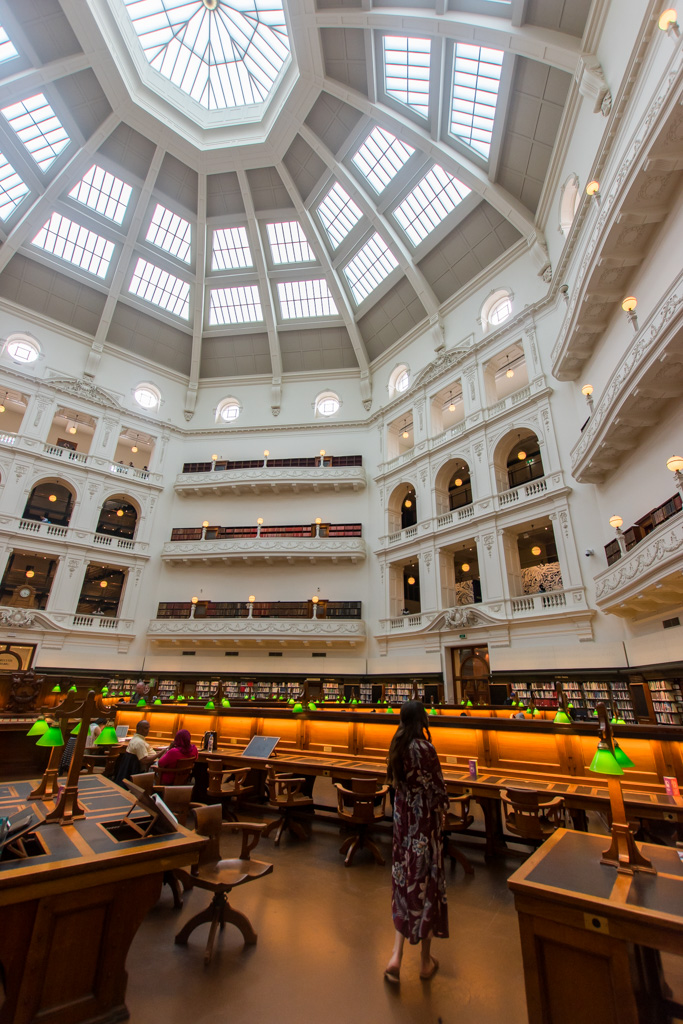 State Library of Victoria Instagram Photo Idea