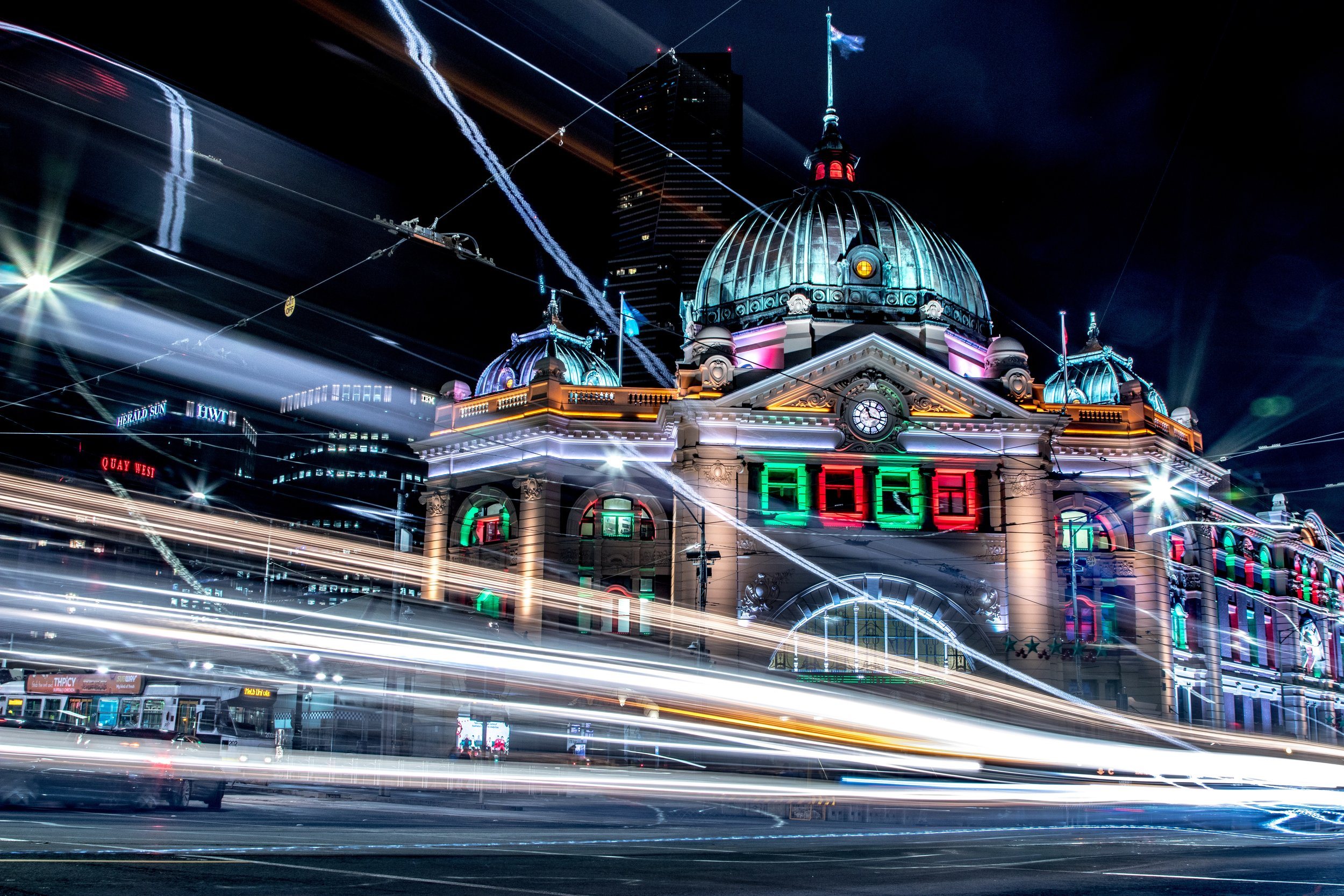 Flinders Street Station Instagram Photo Ideas