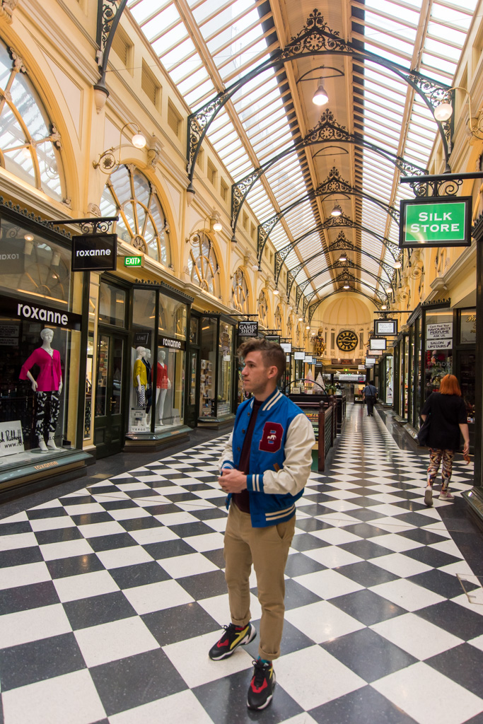 Melbourne Arcades Instagram Photo Ideas