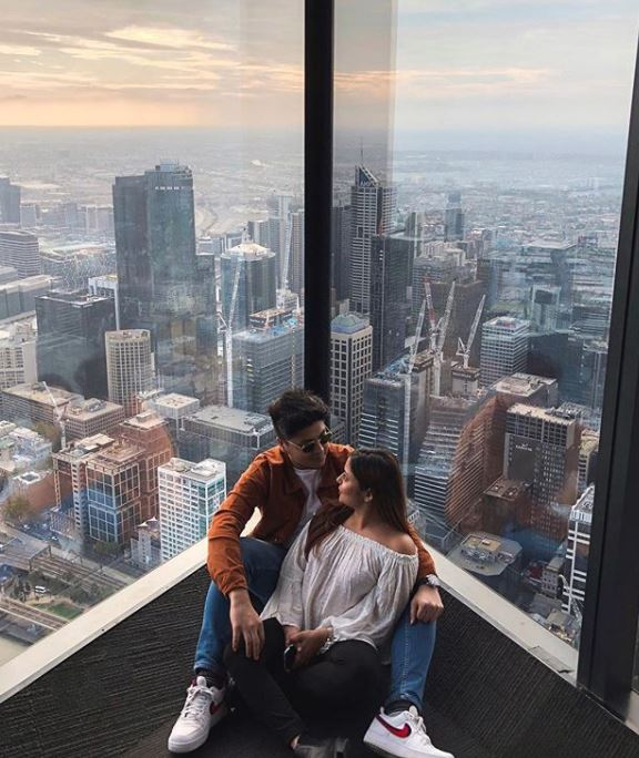 A great spot for an Instagram photo in Melbourne is the Eureka Skydeck. Source:   @the.ashtray