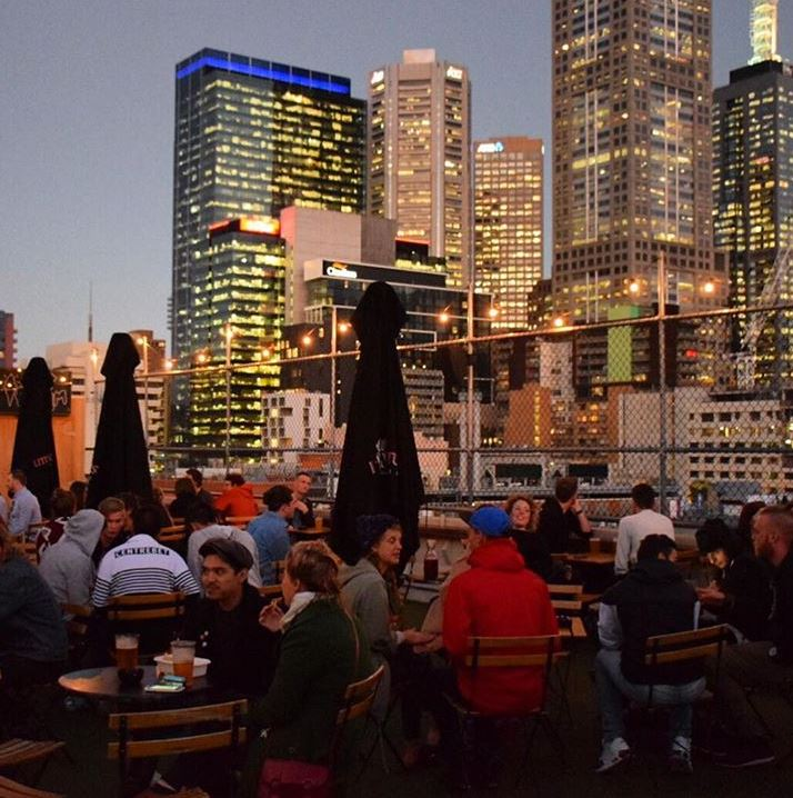 There are tons of great rooftops in Melbourne for pictures.  Source:   @visitmelbourne