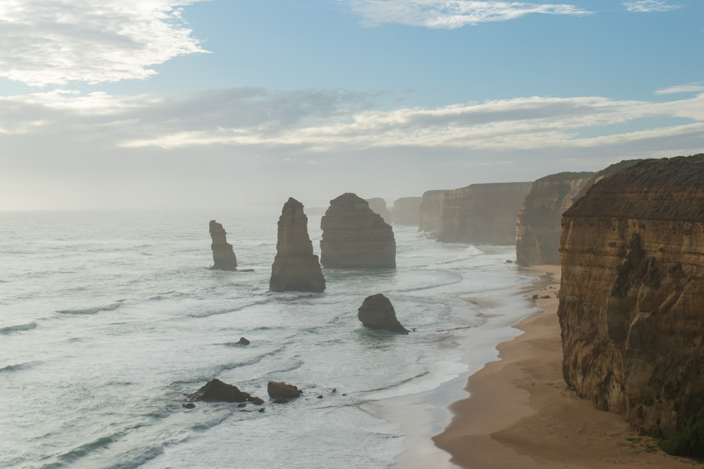 The 12 Apostles are gorgeous in person, no photo can really do it justice.