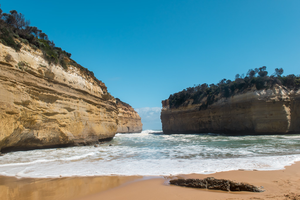 It doesn't look like much in photos but Loch Ard Gorge was my second favorite of the entire road.
