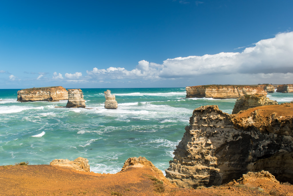 A hidden gem, the Bay of Martyrs on the Great Ocean Road.