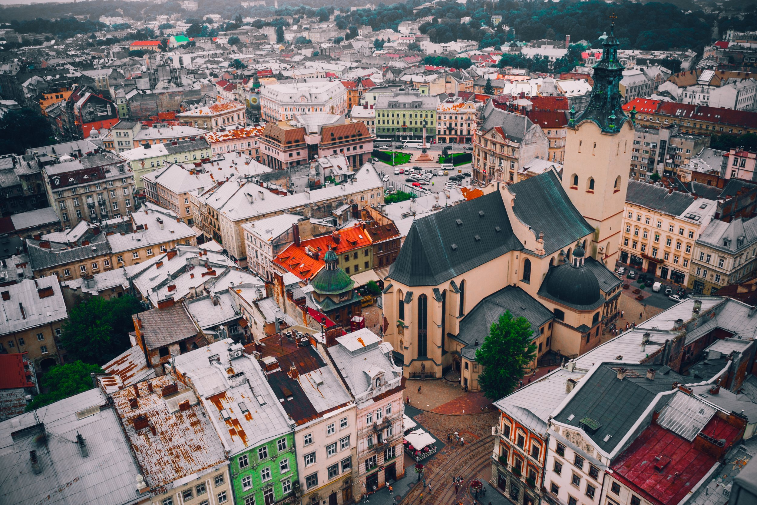 Lviv in the Ukraine is one of the best places to spend the holidays. Photo:   Andrii Podilnyk