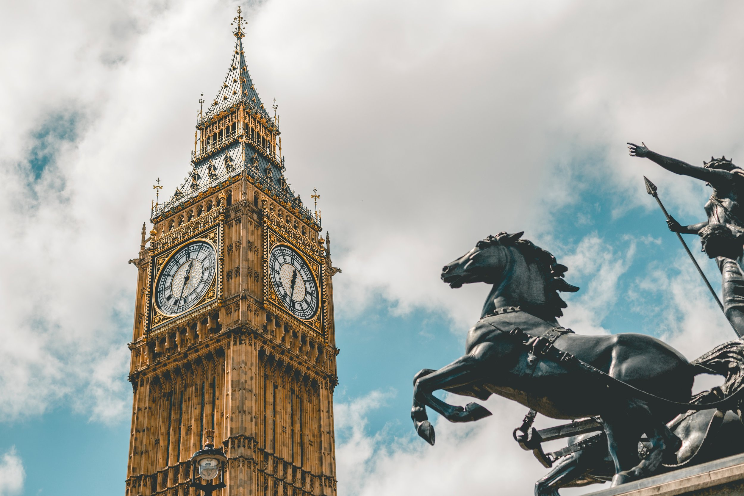 Big ben is one of the best places to visit in London