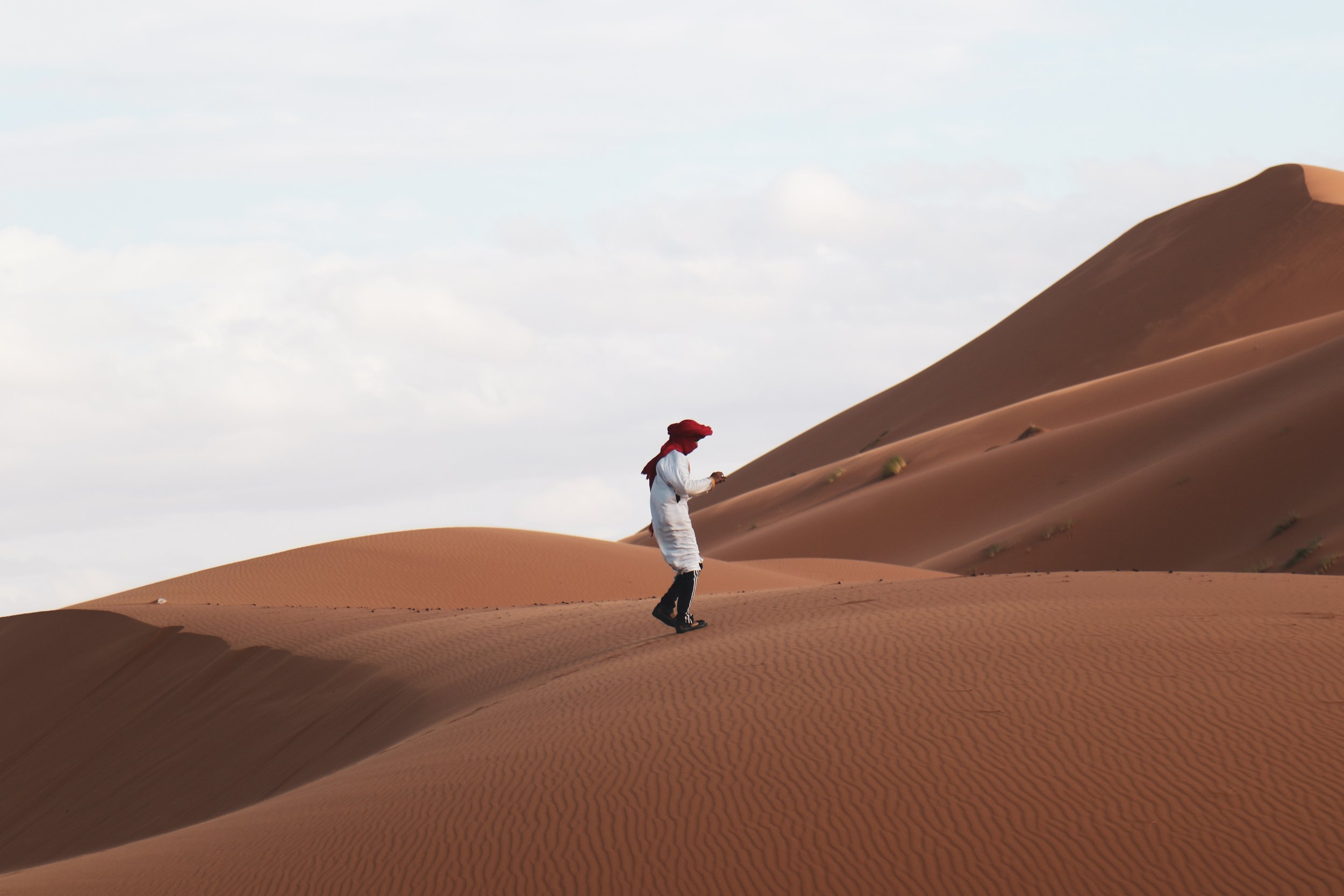 Visiting the Sahara Desert is one of the best things to do while in Northern Africa.