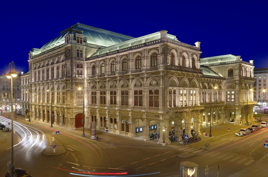 While in Vienna it would be a crime to miss a trip to the Vienna Opera House.   Source