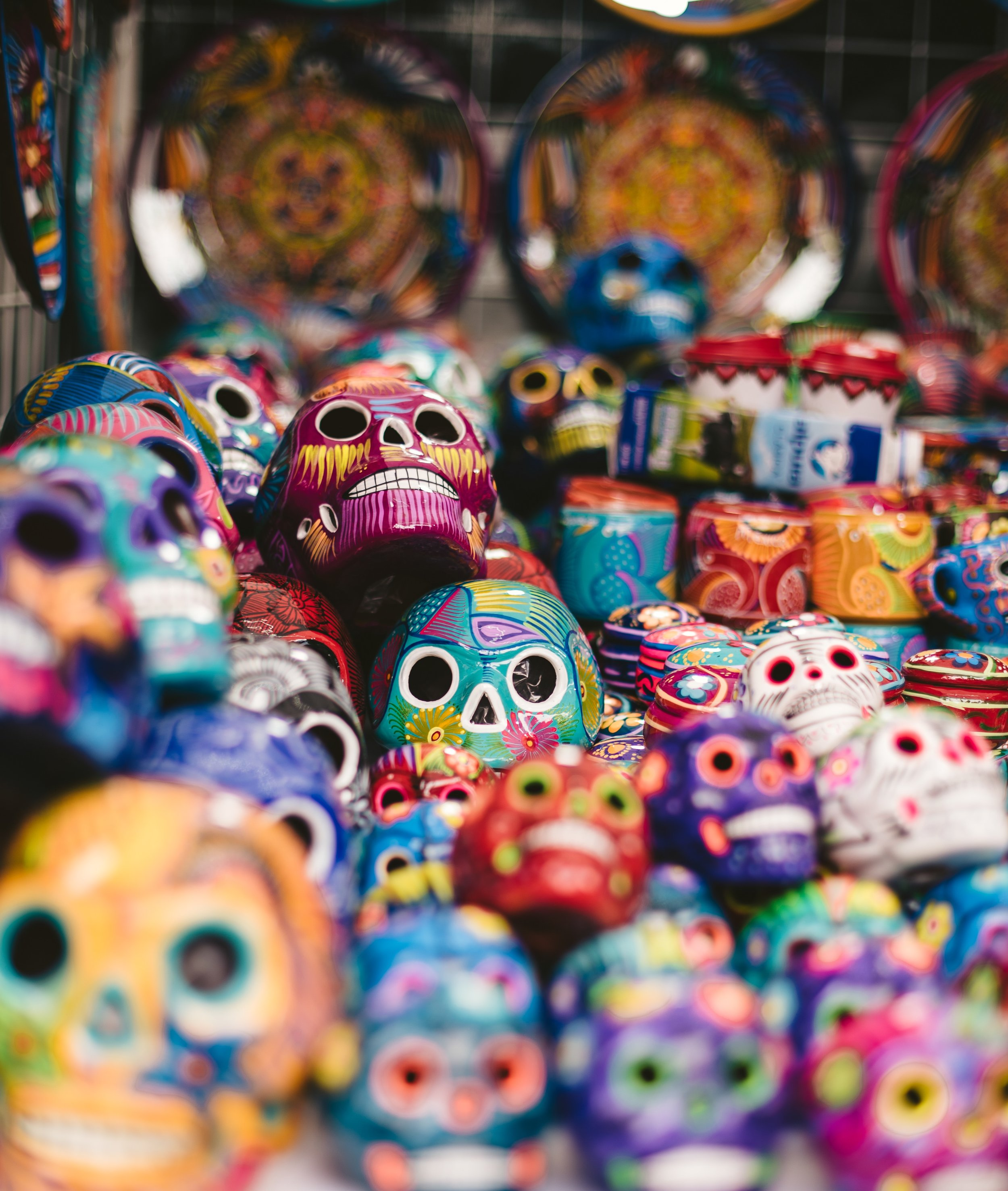 One of the best places to shop in Mexico City is La Ciudadela.