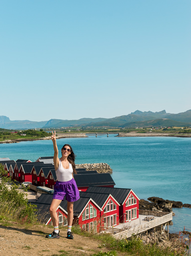 Summer is a great time to visit Lofoten. You've got beautiful weather and endless hours of sunlight!