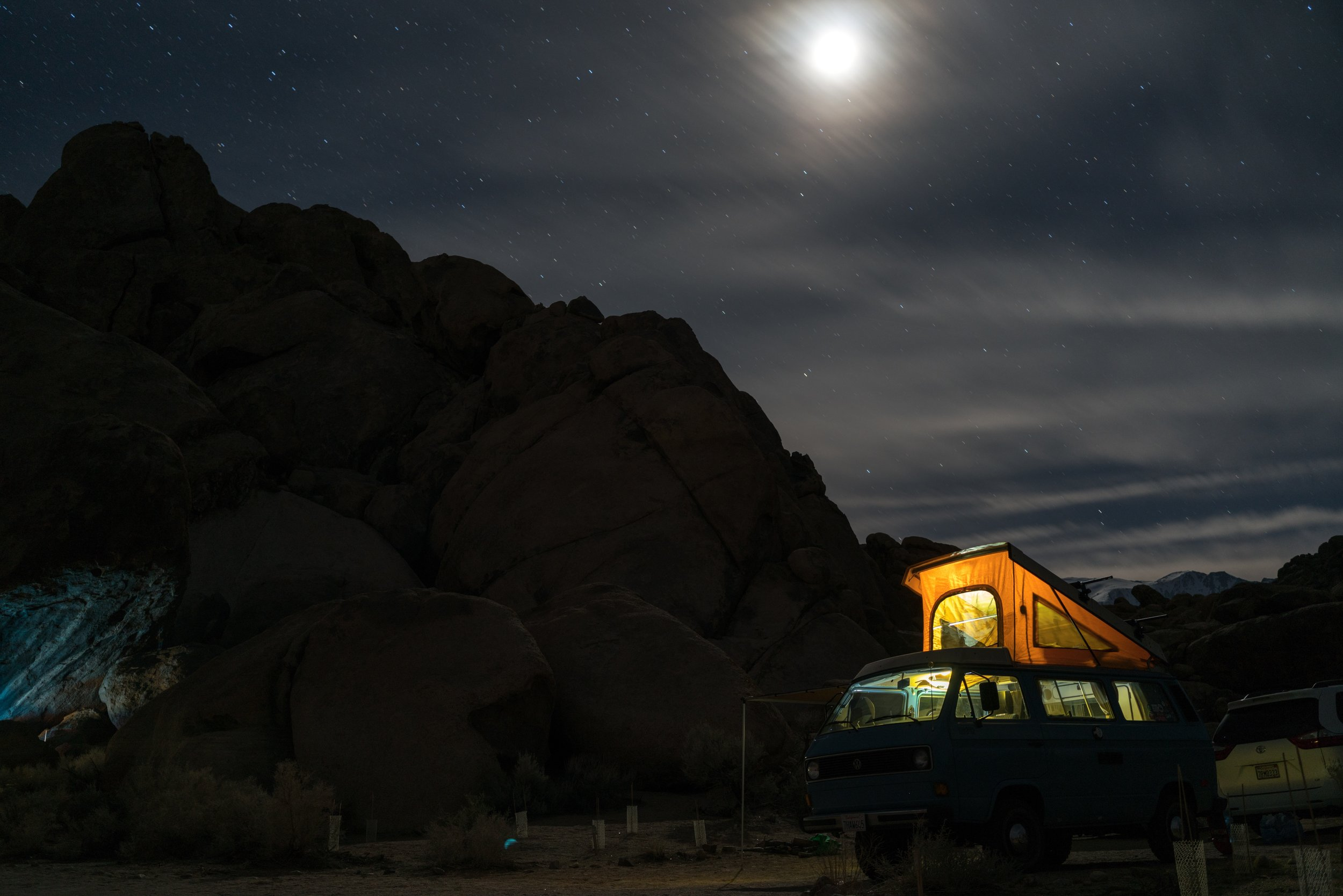 A camper van can be a great way to save money while traveling Lofoten Norway.