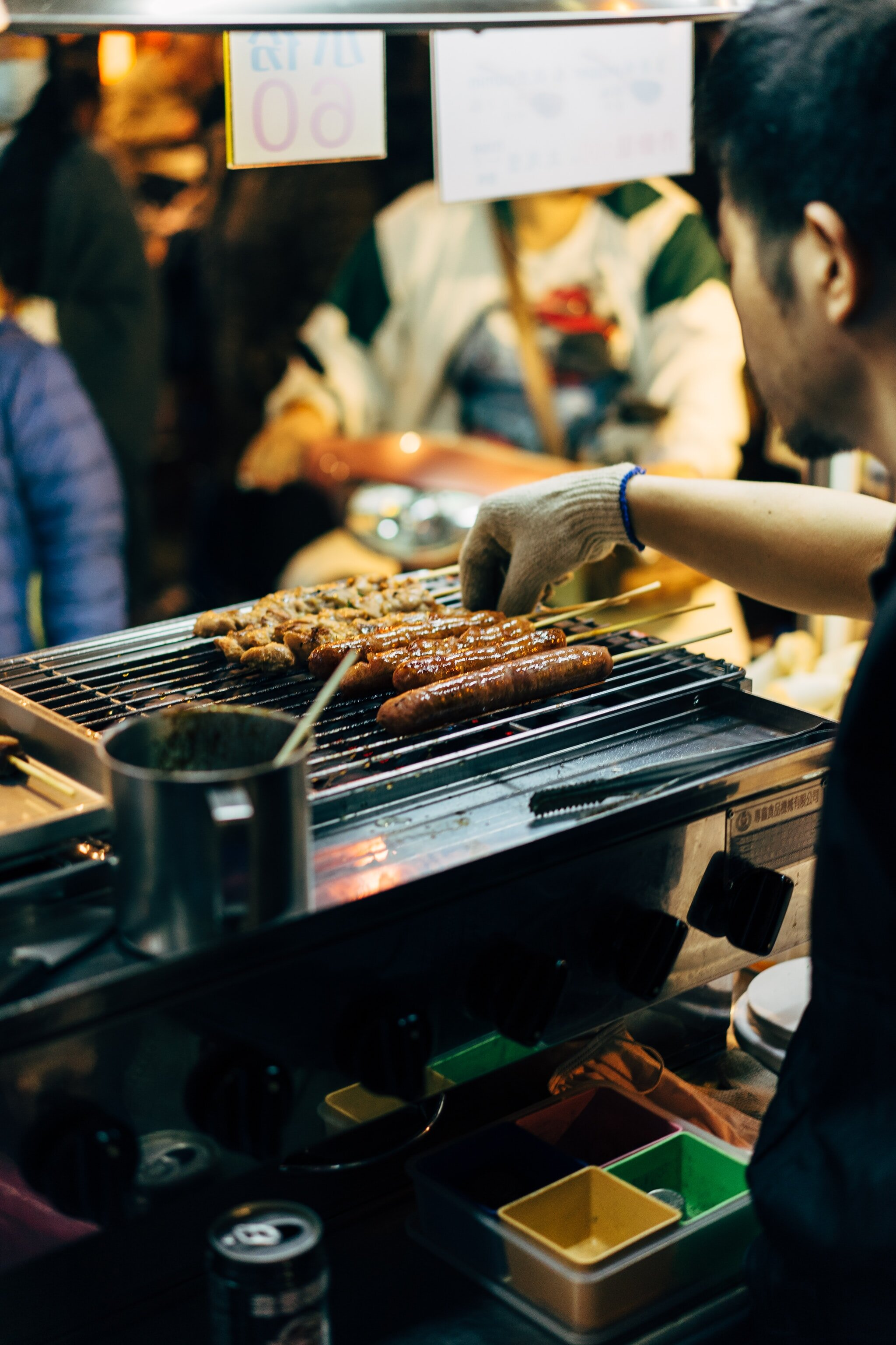 Street food is a great way to experience the best local food in Manila.